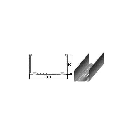 Профиль 100х50 (0,45мм, 3м)