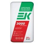 Клей ЕК 3000 универсальный клей для плитки и керамогранита (25кг)