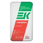 Клей ЕК THERMEX для пенополистирола и мин. плит (25кг)