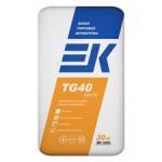 Штукатурка ЕК TG 40 white  белая гипсовая штукатурка (30кг)