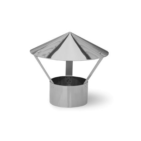 Зонт нерж. ф110  0,5мм разъемный  (⌀115,⌀120)